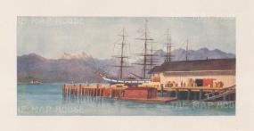 Vancouver: Hastings Wharf.