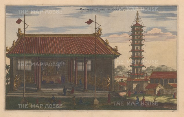Pagoda and Temple.