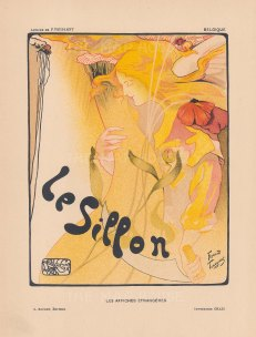Le Sillon: Advertisement for an exhibition by the artists' group Le Sillon. After Fernand Toussaint.