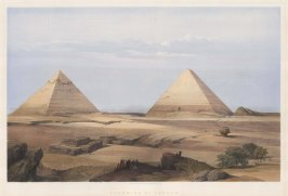 Great pyramid Cheops, second pyramid Cephren and the Sphynx.