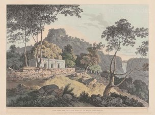 Bihar: Rohtasgarh Fort in the Kaimur Hills.