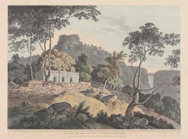 Bihar: Rohtasgarh Fort in the Kaimur Hills.