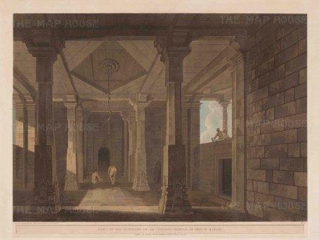 Bihar: Part of the Interior of Umnga Surya Temple at Deo.