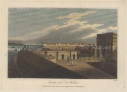 Calcutta: View from Fort William.