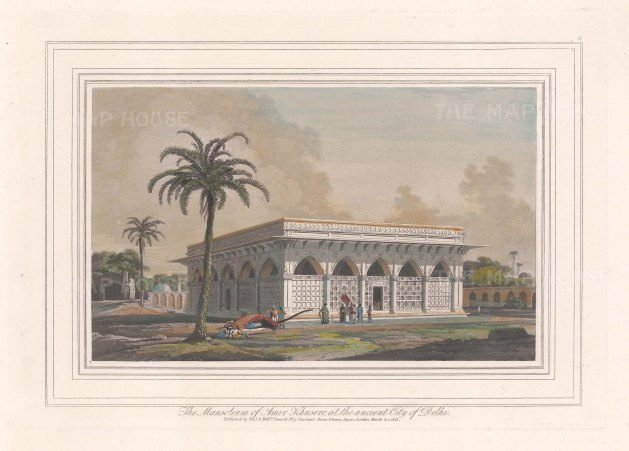 Delhi: Mausoleum of Amir Khusero Delavi.