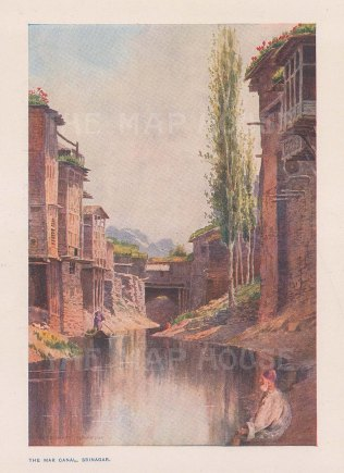 View of the Nallah Mar (Mar Canal). After Edward Molyneaux.