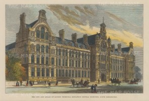 Formerly the City and Guilds London Institute. Imperial College.