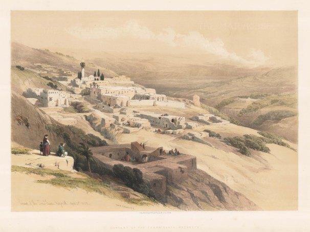 Nazareth: Convent of Terra Santa.