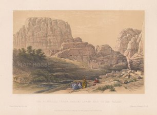 View of the Acropolis, Ksr Faron. Lower End of the Valley.