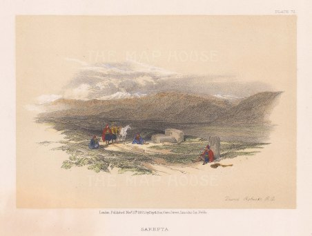 View of the Phonecian ruins between Ras al Qantaea and the Mausoleum of Khodr Abu Abbas near to Sarafand,