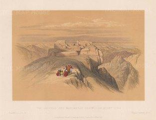The Christian and Mahometan Chapels.
