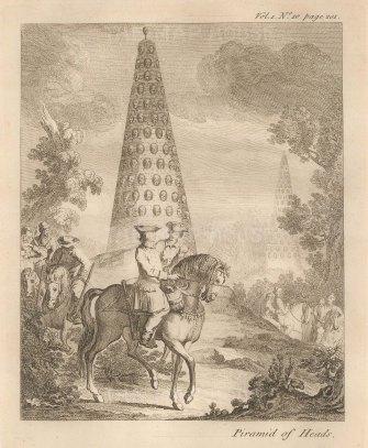 Erected following the victory of Nadir Shah over a regional rebellion near Kura and Aras.
