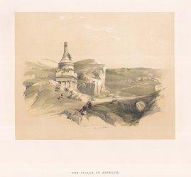 Pillar of Absalom in the Kidron valley near Jerusalem.
