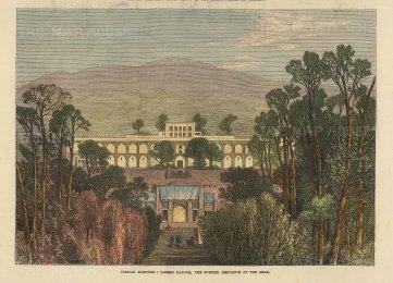Caserh Kadjar: Summer residence of the Shah.