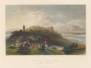 Jaffa: View of the old city.