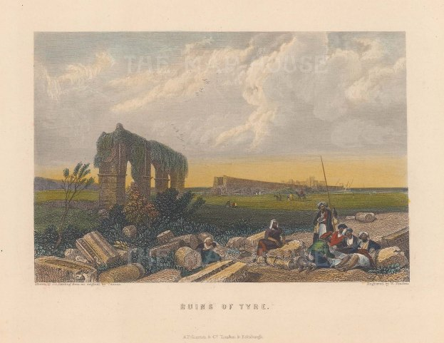 Panoramic view over the ruins.