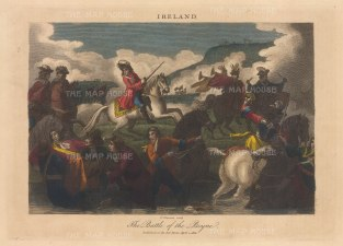 Battle of the Boyne: Engraved by John Chapman.