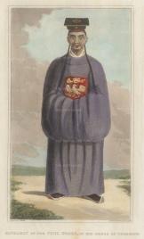 Mandarin of the civil order in ceremonial dress.