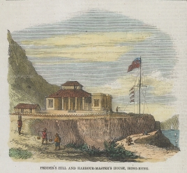View of the Harbour Master's house on Pedder's Hill.