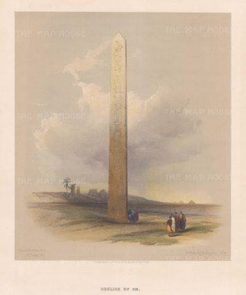Obelisk of On: On the site of the ancient city of Heliopolis.