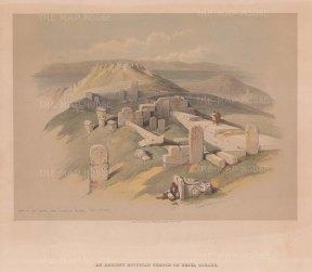 Temple on Gebel Garabe called Surabit el Khadi.