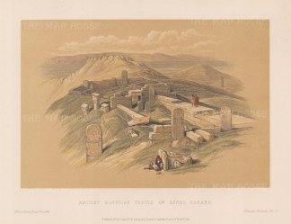 Temple of Hathor known as Serabit el-Khadim.