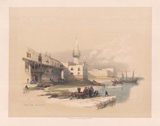 Quay of Suez.