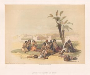 Abyssinian Slaves at Korti.