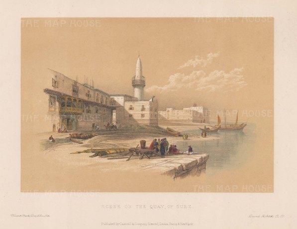 Scene on the Quay of Suez.