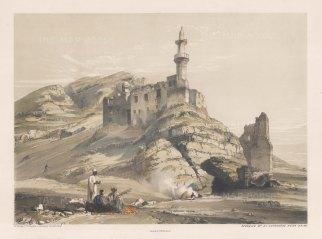 "Hay: Juyshi Mosque, Cairo 1840. An original colour antique lithograph. 30"" x 16"". [EGYp954]"