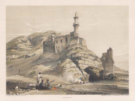 Mosque of El Guyooshee near Cairo.