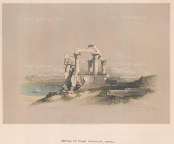 Temple of Wady Kardassy.