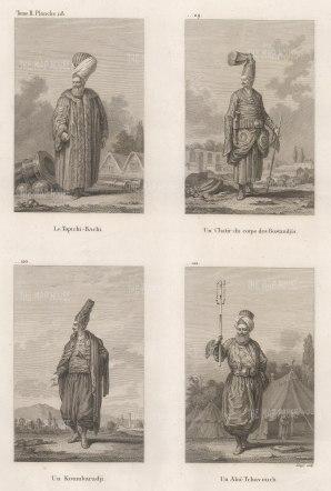 :Toptchi bachi, chatir du corps des bostandjis koumbaradji alai-tchavouch