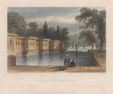 Constantinople: Palace of the Sweet Waters.