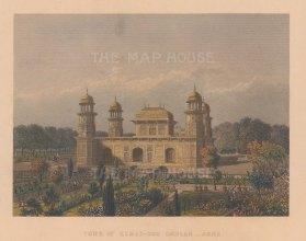 Agra: Tomb of Itimad-ud-Daulah.