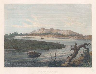 Rio Grande near Frontera.