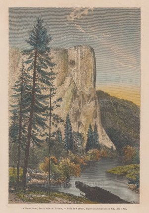 Yosemite Valley: View of the Lost Arrow Spire.