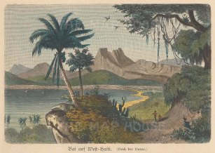 View of a Bay in West Haiti.