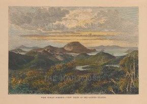 View taken in the Saintes Islands.