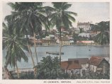 "R.M.S.P Co.: St. George's, Grenada. c1920. An original tinted vintage photo-lithograph. 6"" x 4"". [WINDp1223]"