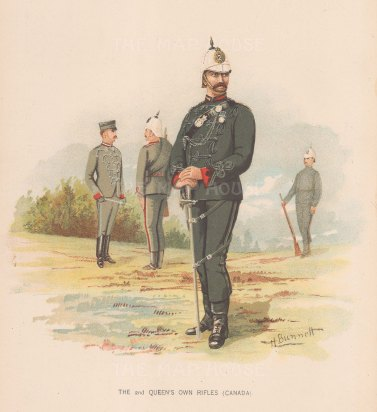 The 2nd Queen's Own Rifles. Canada.