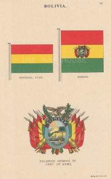 National flag, ensign, and coat of arms.