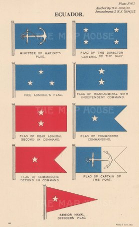 Marine and Admiralty flags.