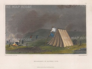 Browell Cove Encampment: Franklin's MacKenzie River Expedition 1824-26
