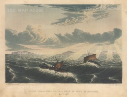 Gale at sunrise: Franklin's Coppermine Expedition 1819-22.