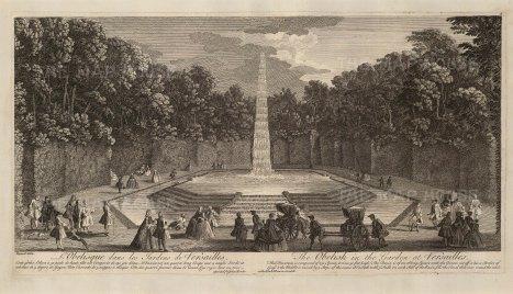 Versailles: View of the Obelisk Grove