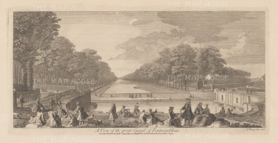 Fontainebleau: View of the Grande Canal
