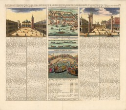 Piazza San Marco: With views of the Arsenal, Lagoon, gondolas, and Ponte dei Pugni with text.